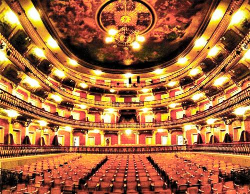 Teatros importantes do Brasil