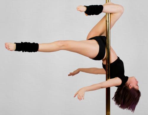 Onde praticar pole dance